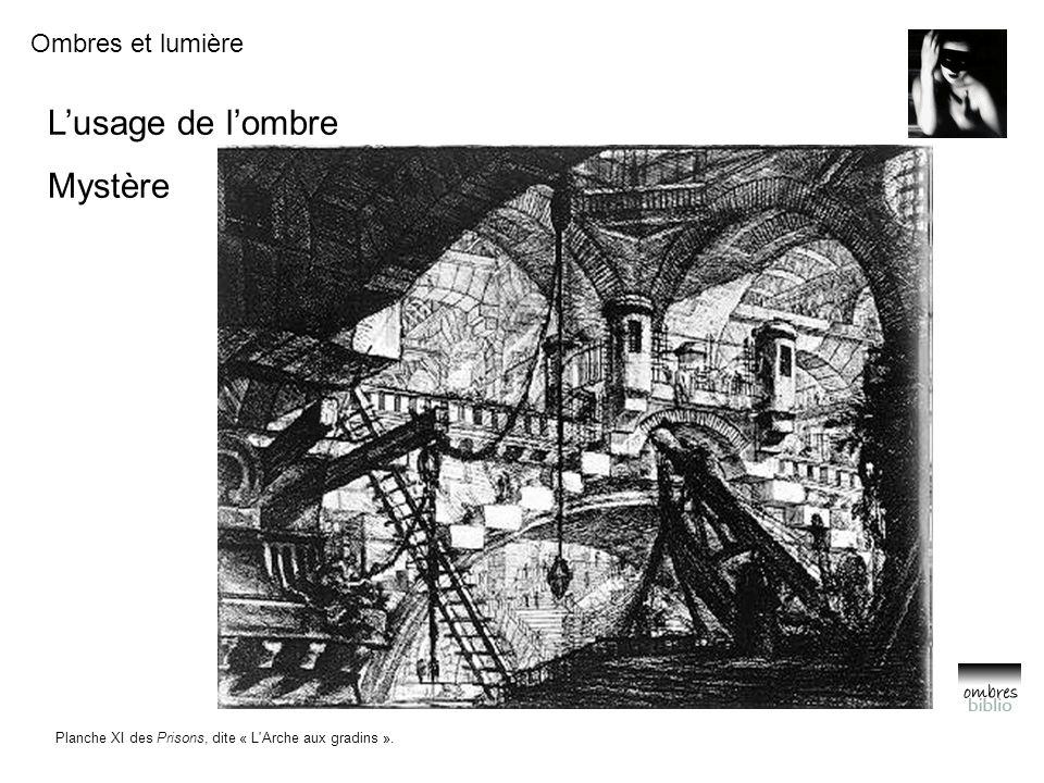 Planche XI des Prisons, dite « L Arche aux gradins ».