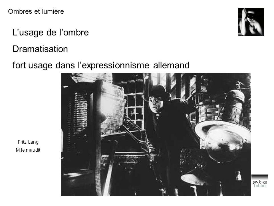 fort usage dans l'expressionnisme allemand