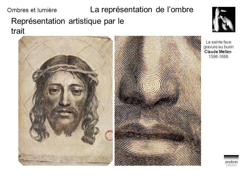 La représentation de l'ombre Représentation artistique par le trait