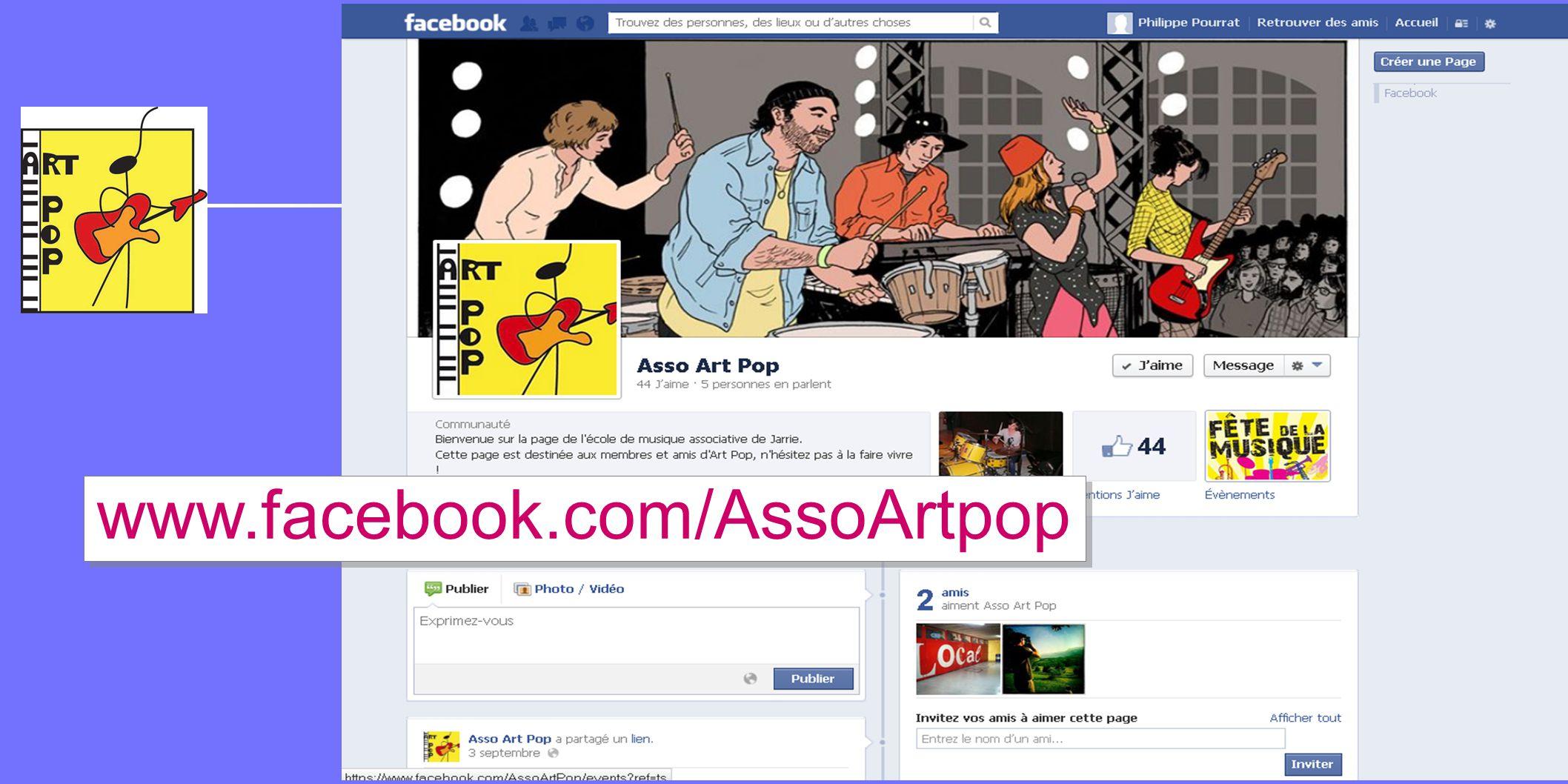 www.facebook.com/AssoArtpop