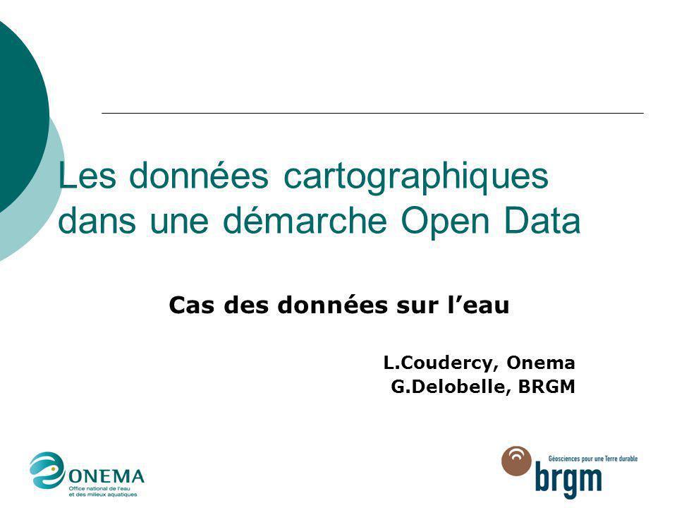 Les données cartographiques dans une démarche Open Data