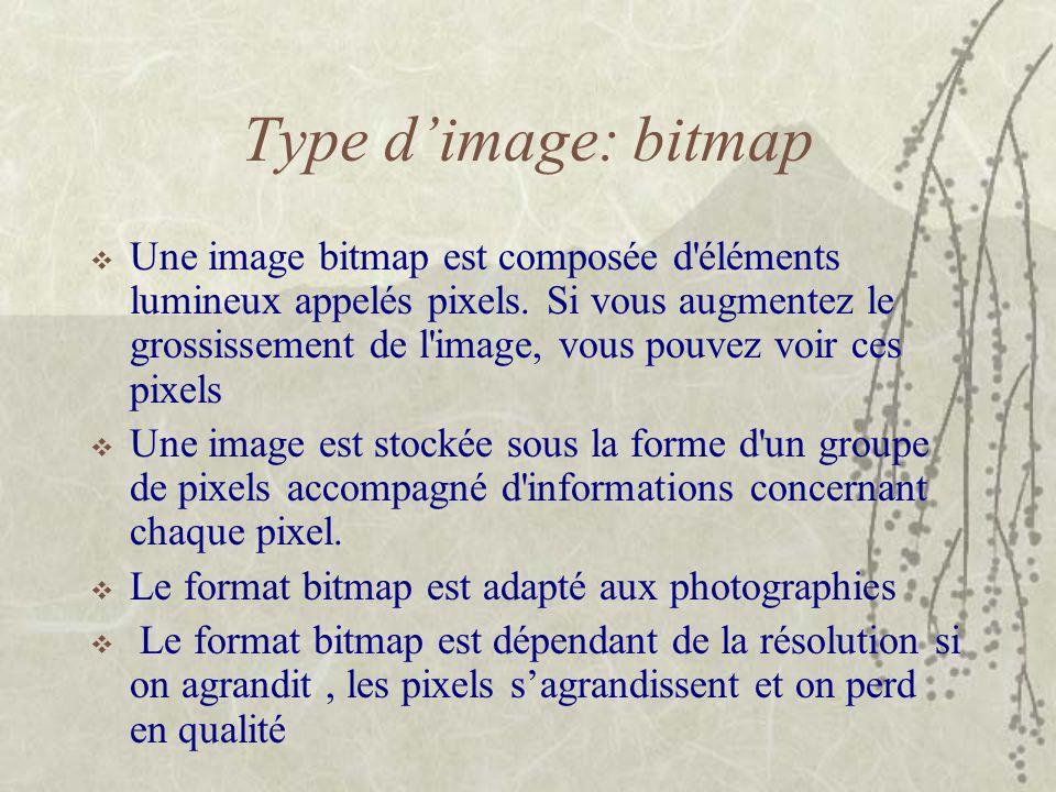 Type d'image: bitmap
