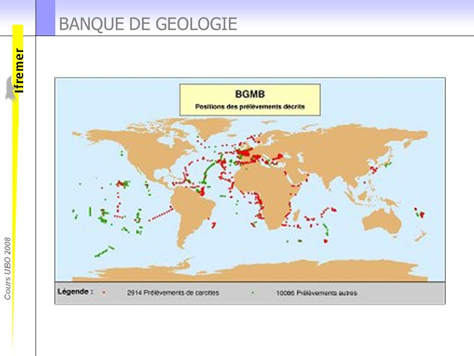 BANQUE DE GEOLOGIE