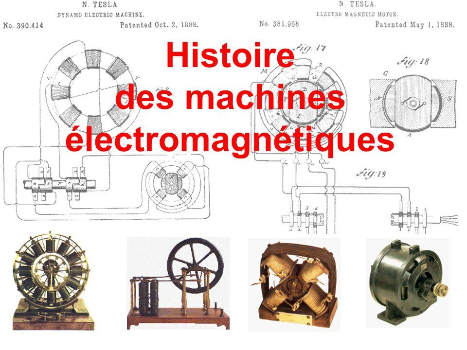Histoire des machines électromagnétiques