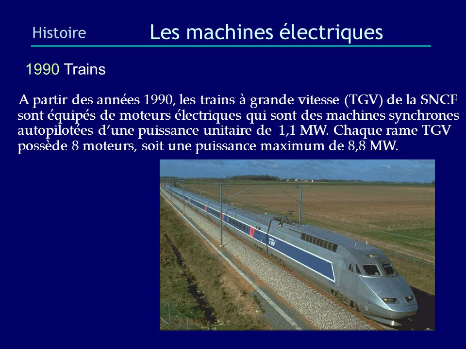 Les machines électriques