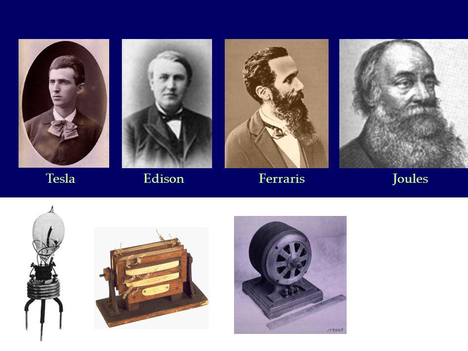 Tesla Edison Ferraris Joules