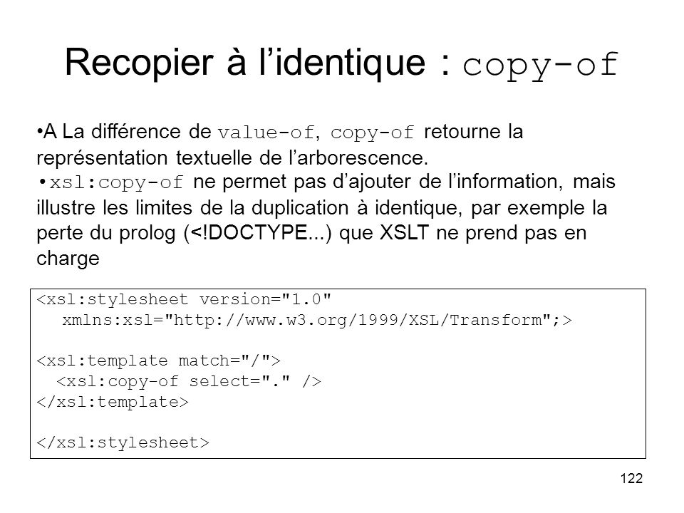 Recopier à l'identique : copy-of