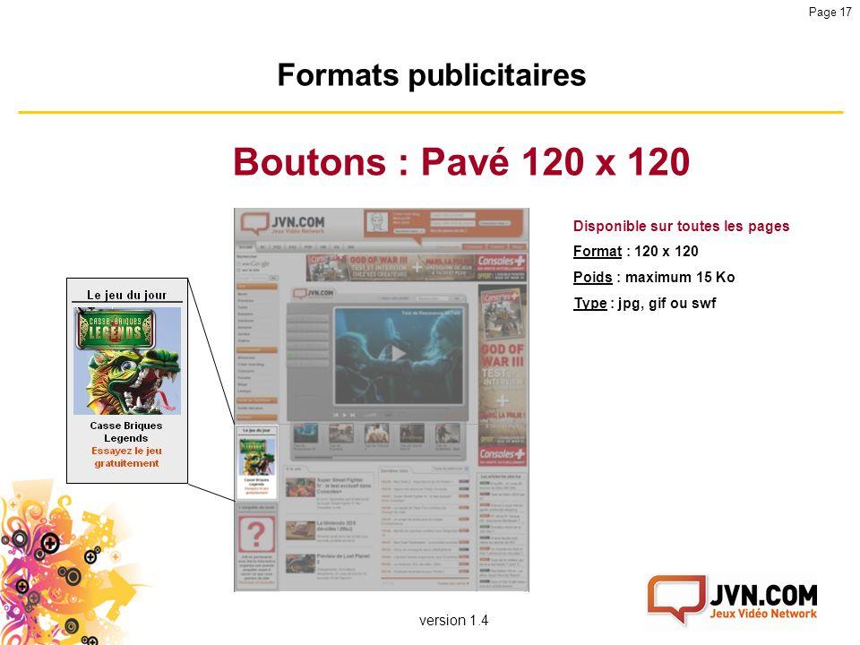 Formats publicitaires