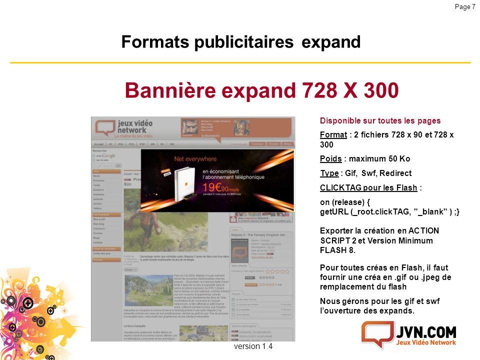 Formats publicitaires expand