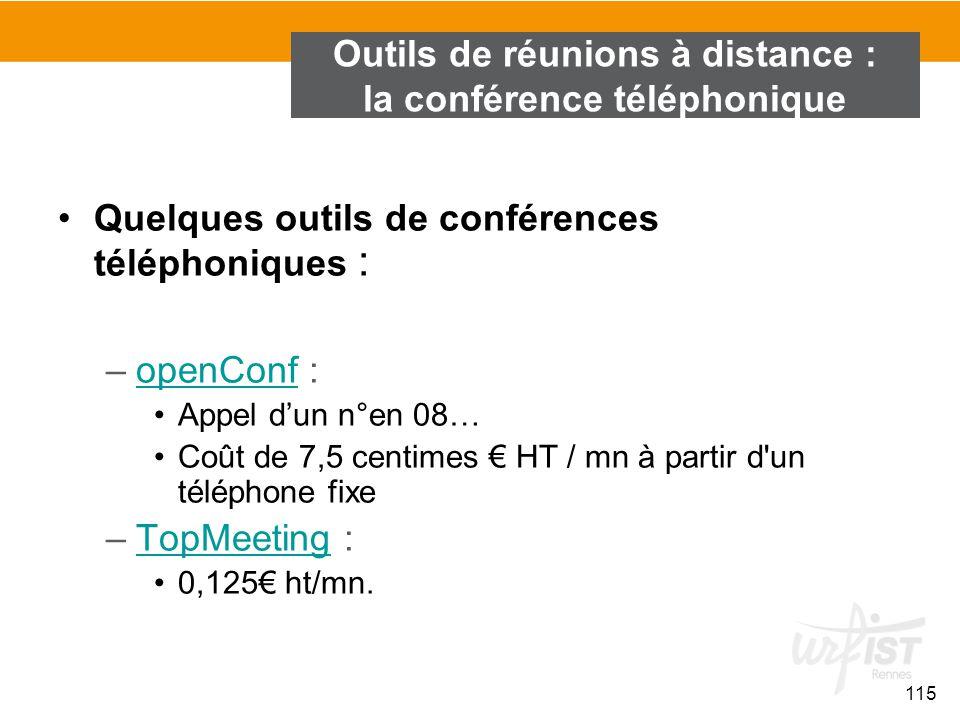 Outils de réunions à distance : la conférence téléphonique