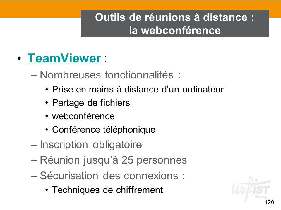 Outils de réunions à distance : la webconférence