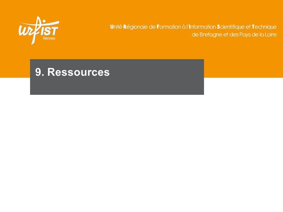 9. Ressources 121 121