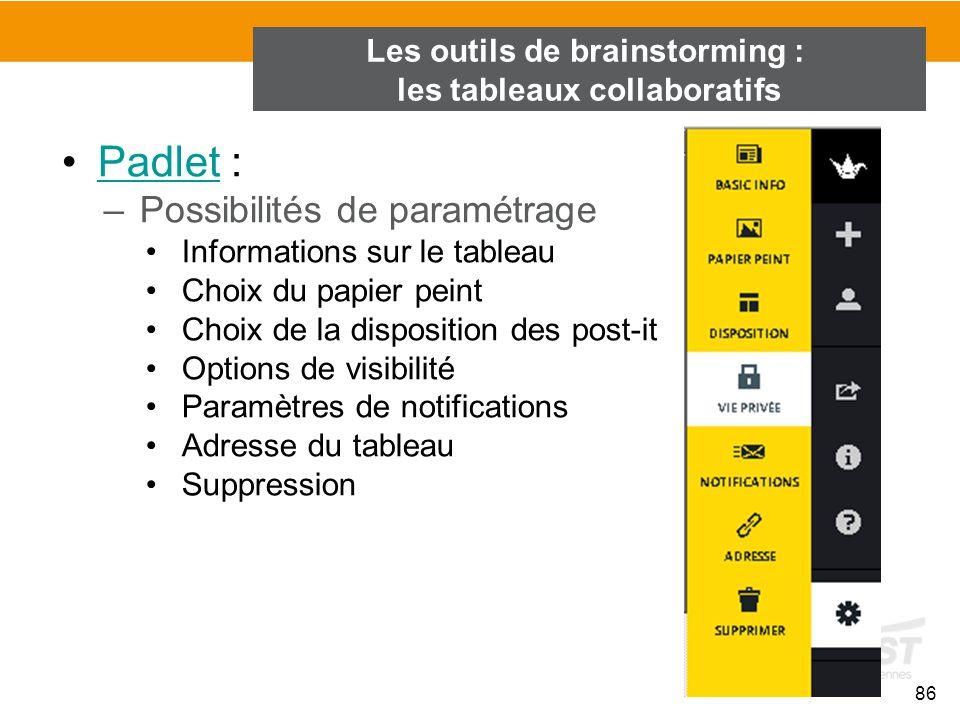 Les outils de brainstorming : les tableaux collaboratifs