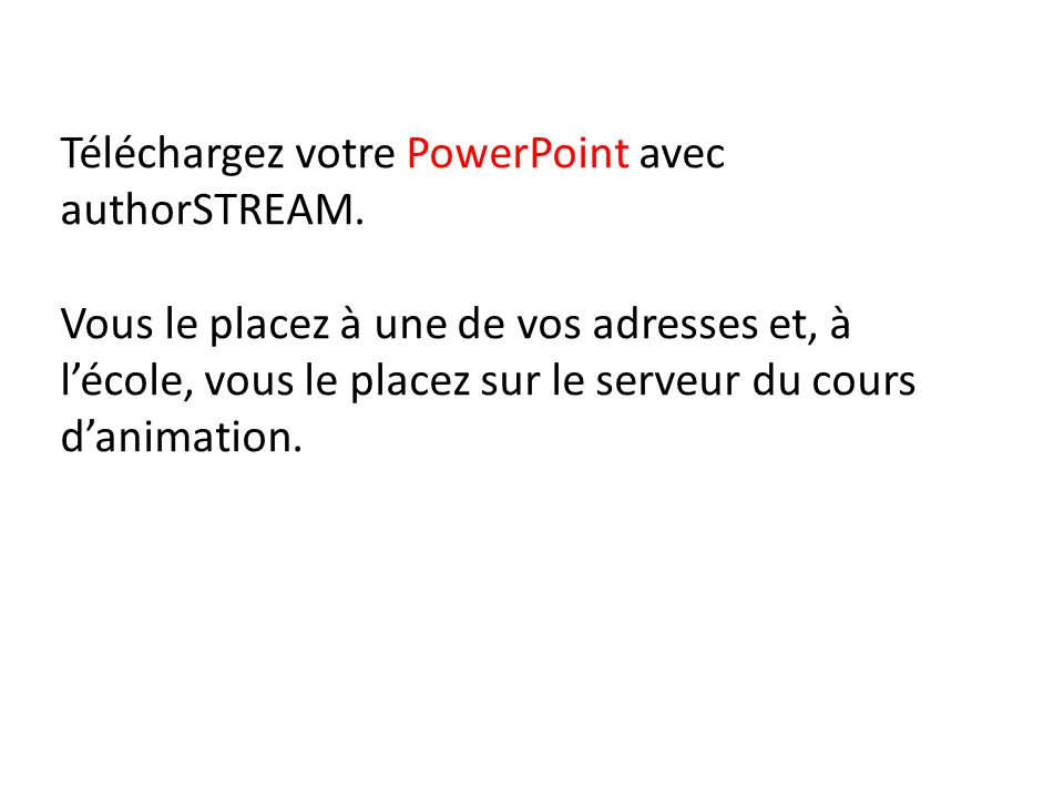 comment convertir un fichier power point en format mpeg4