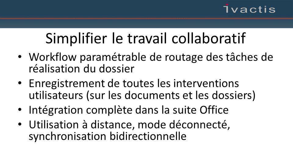 Simplifier le travail collaboratif