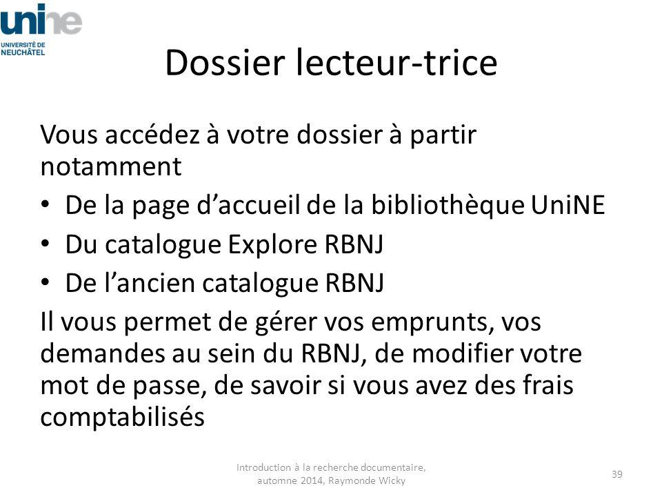 Dossier lecteur-trice