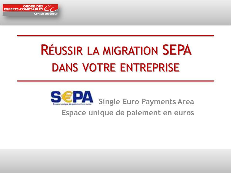 Réussir la migration SEPA dans votre entreprise