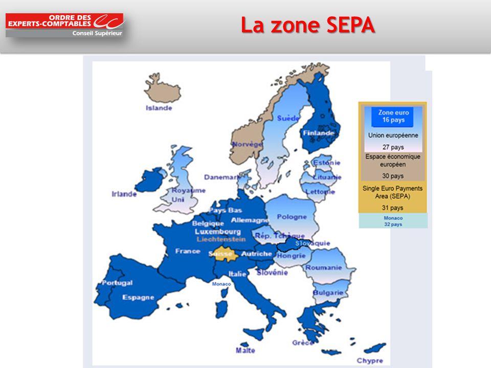 La zone SEPA La Zone SEPA