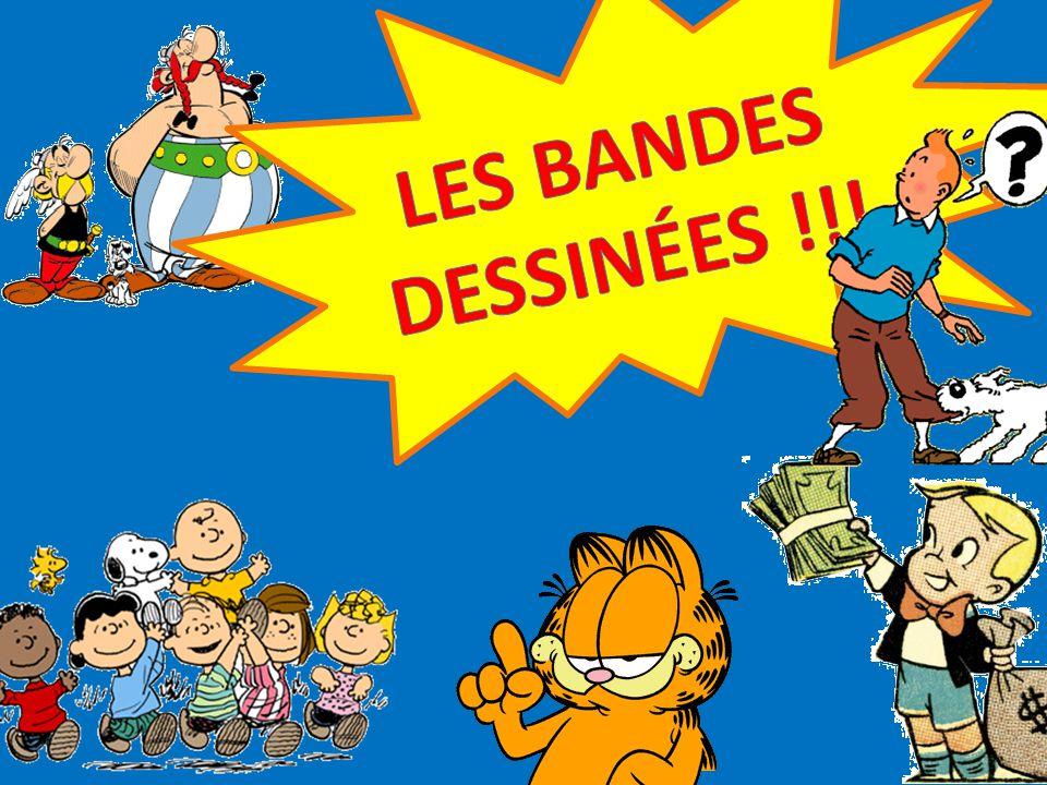 LES BANDES DESSINÉES !!!