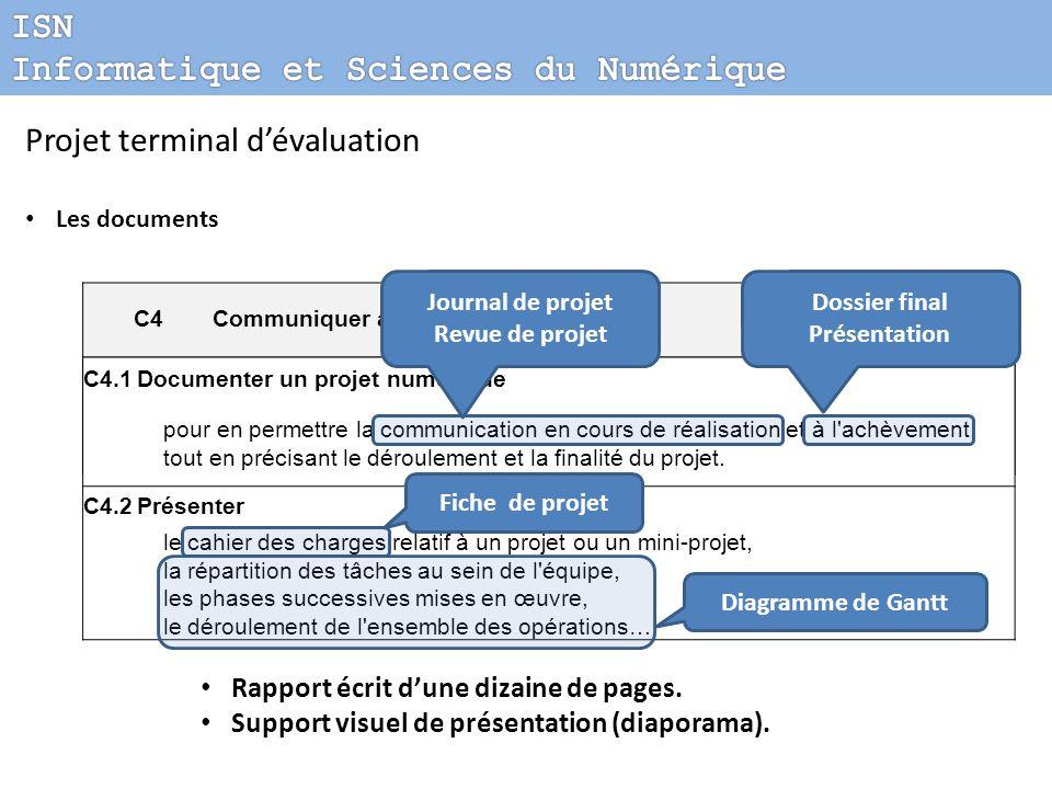 Informatique et Sciences du Numérique