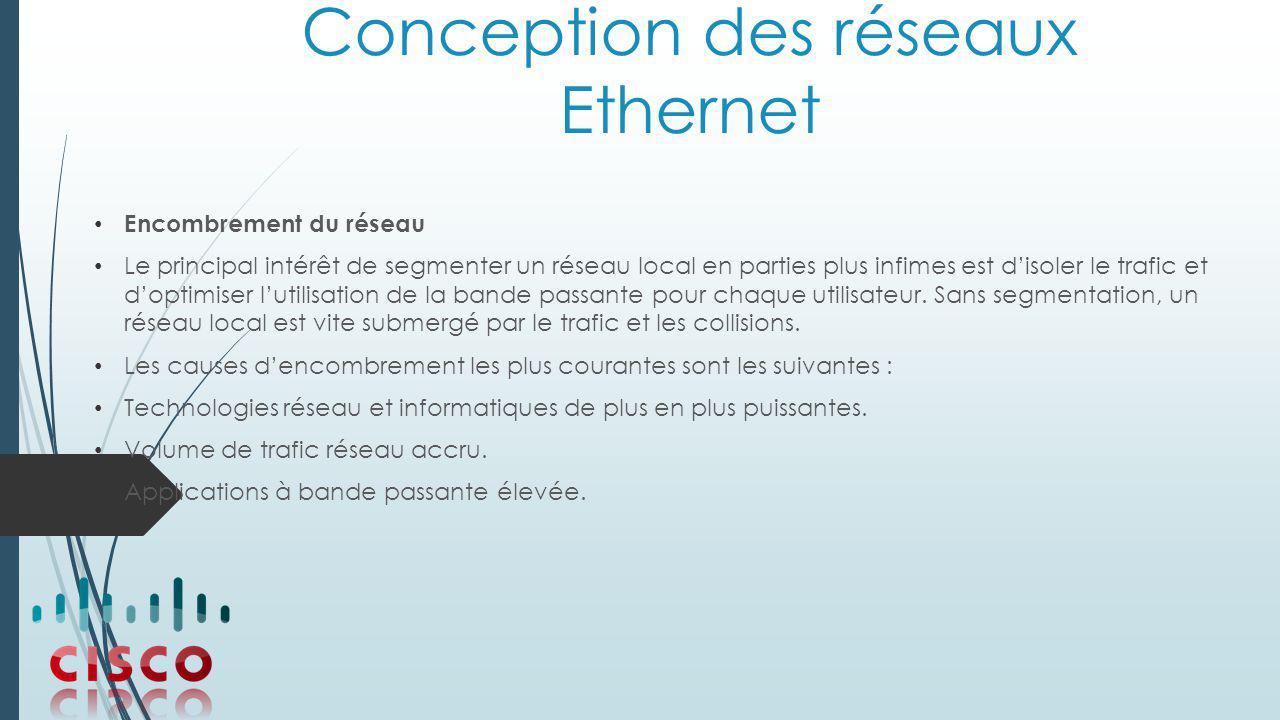 Conception des réseaux Ethernet