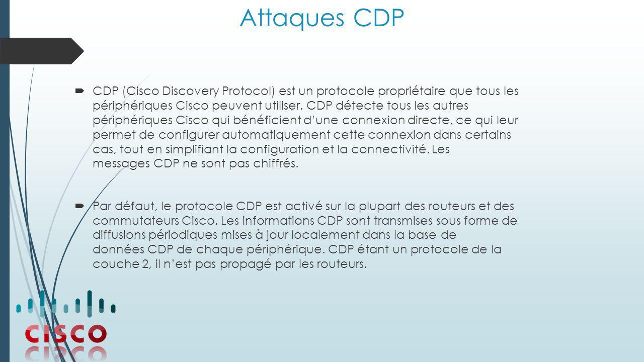 Attaques CDP
