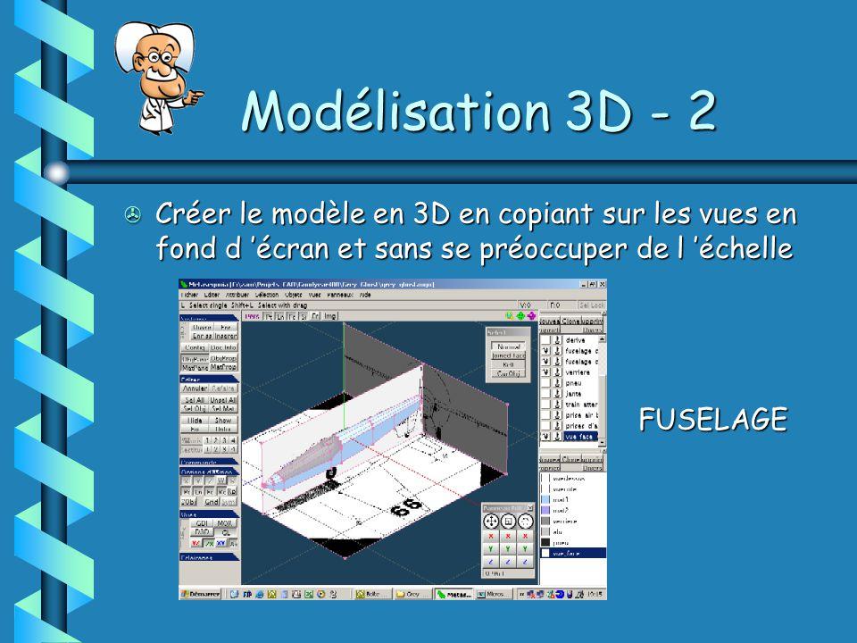 Modélisation 3D - 2