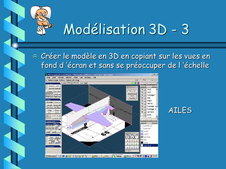 Modélisation 3D - 3