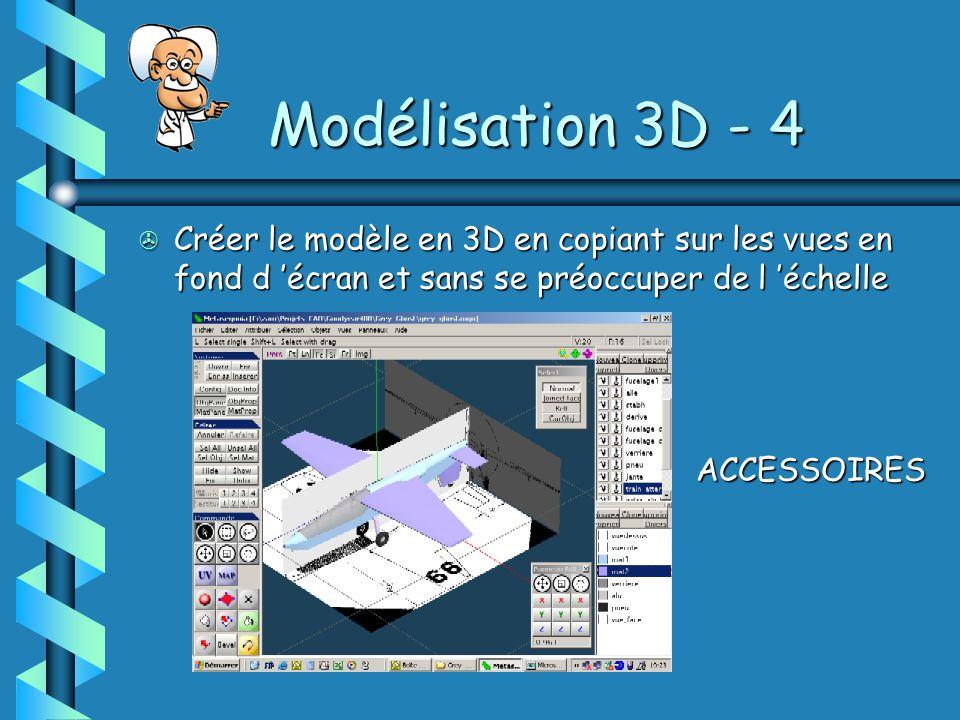 Modélisation 3D - 4