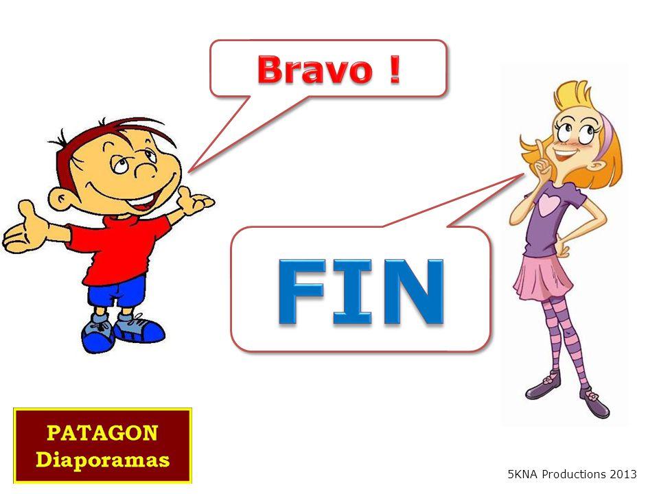 Bravo ! FIN 5KNA Productions 2013