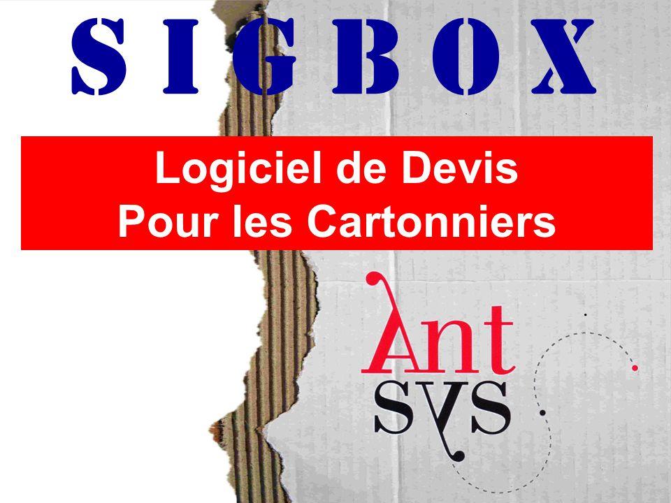Logiciel de Devis Pour les Cartonniers