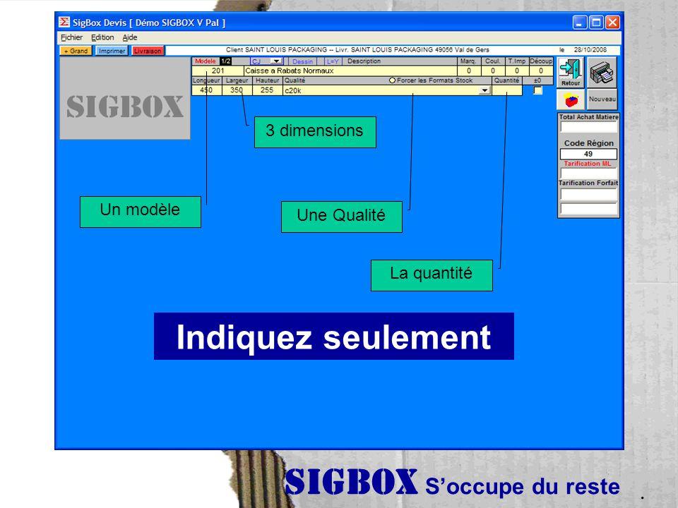 SIGBOX S'occupe du reste