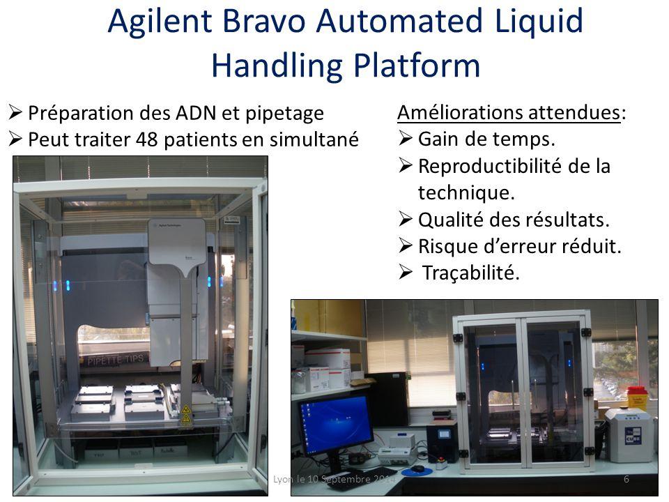 Agilent Bravo Automated Liquid Handling Platform