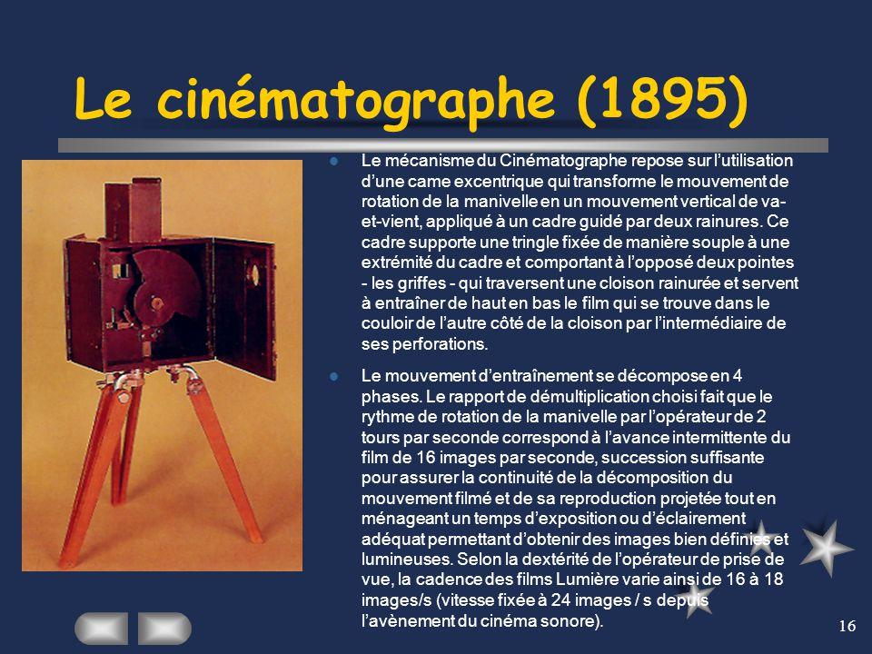 Le cinématographe (1895)
