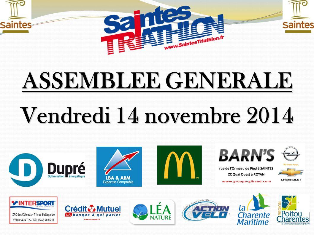 ASSEMBLEE GENERALE Vendredi 14 novembre 2014