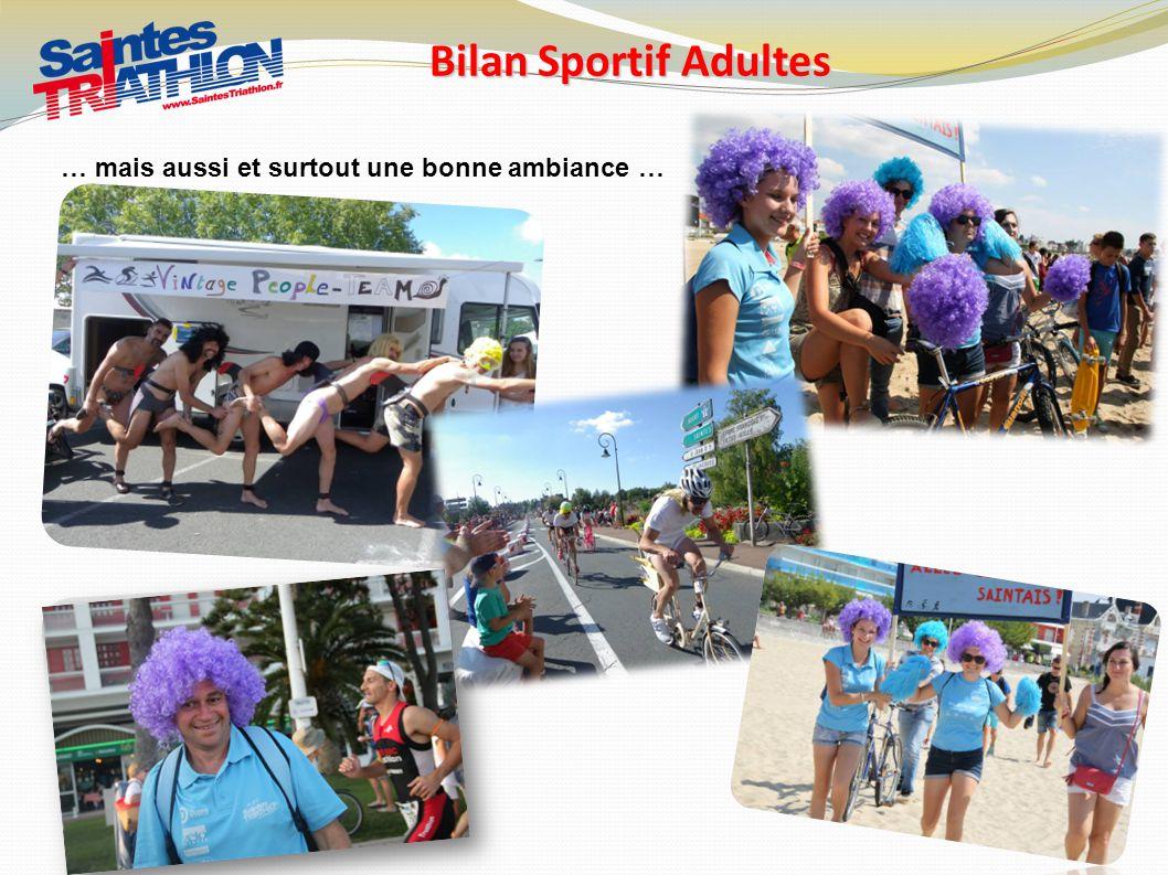 Bilan Sportif Adultes … mais aussi et surtout une bonne ambiance …