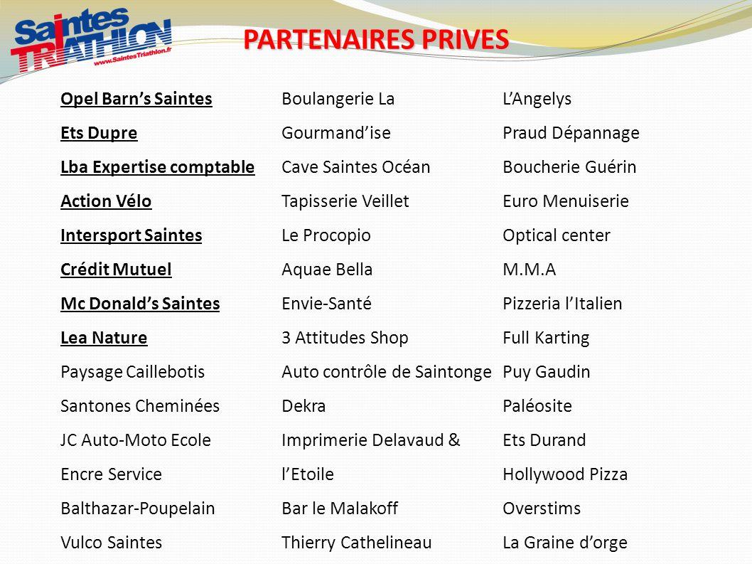 PARTENAIRES PRIVES Opel Barn's Saintes Boulangerie La Gourmand'ise