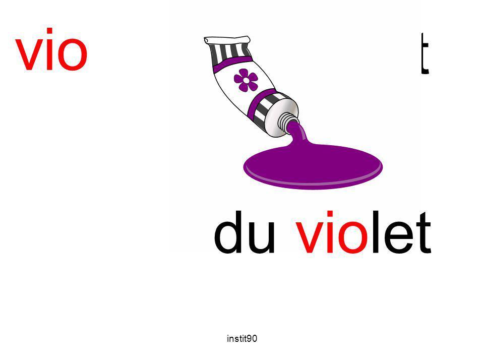 vio violet du violet instit90