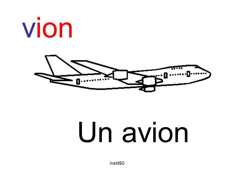 vion Un avion instit90