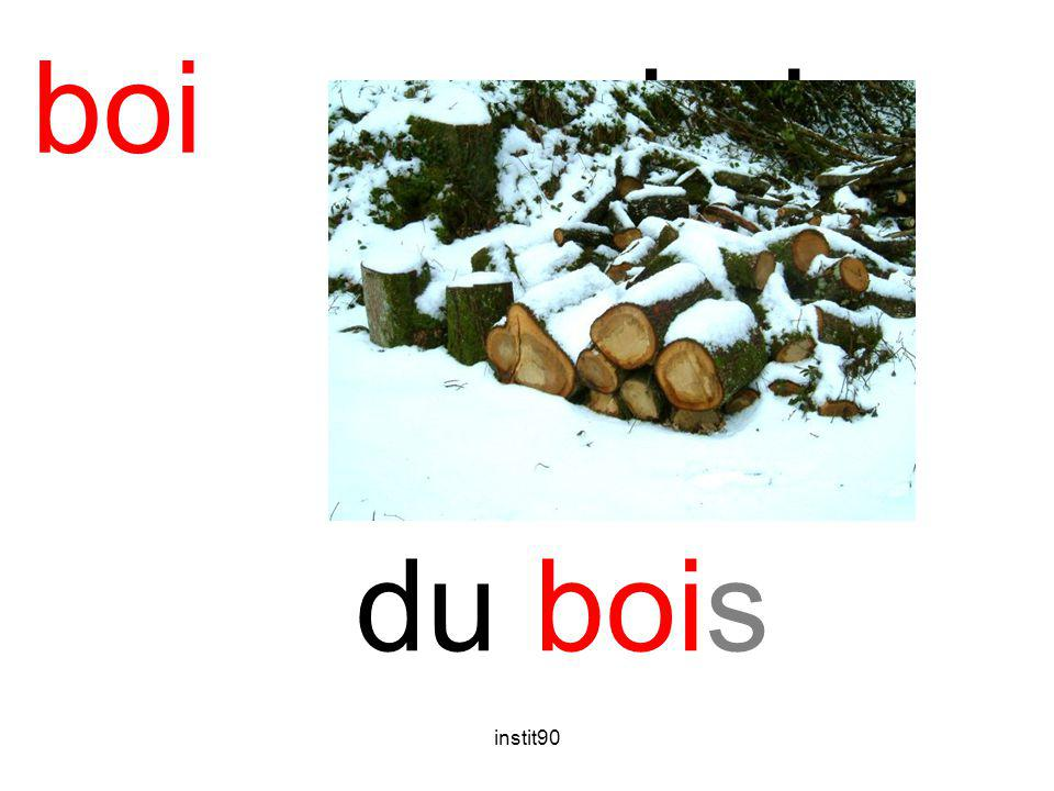 boi bois du bois instit90