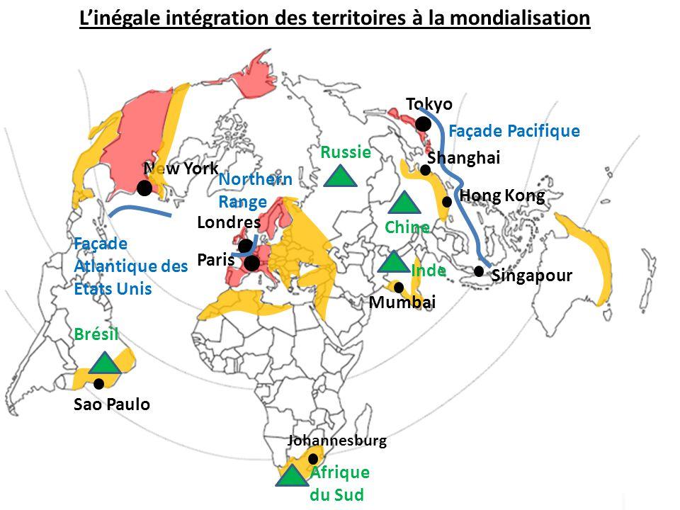 L'inégale intégration des territoires à la mondialisation