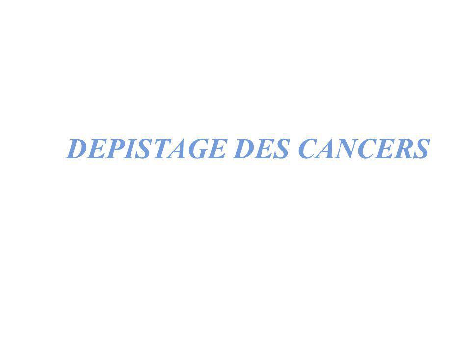 DEPISTAGE DES CANCERS ppP