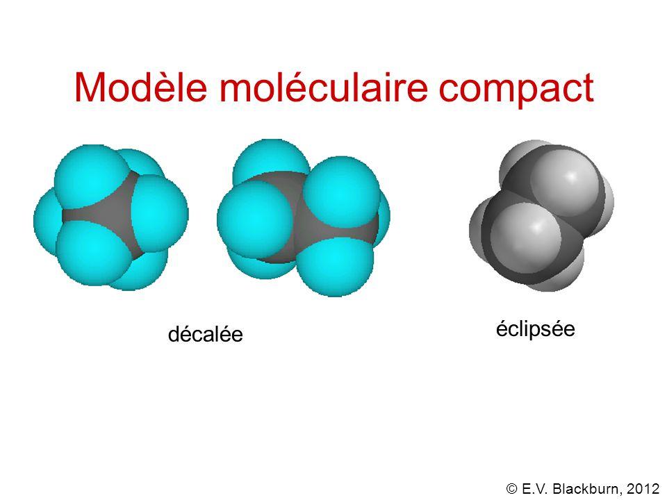 Modèle moléculaire compact