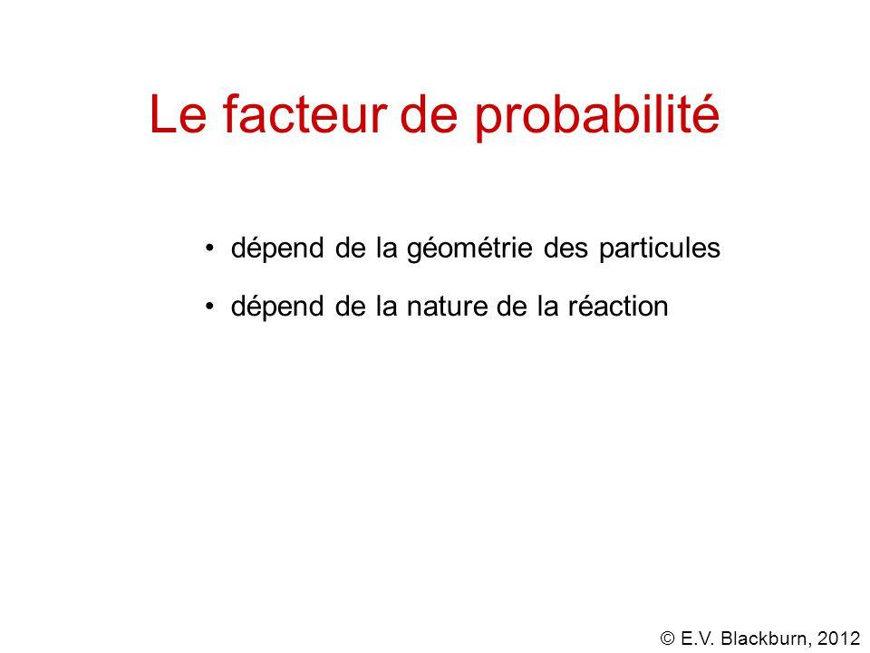 Le facteur de probabilité