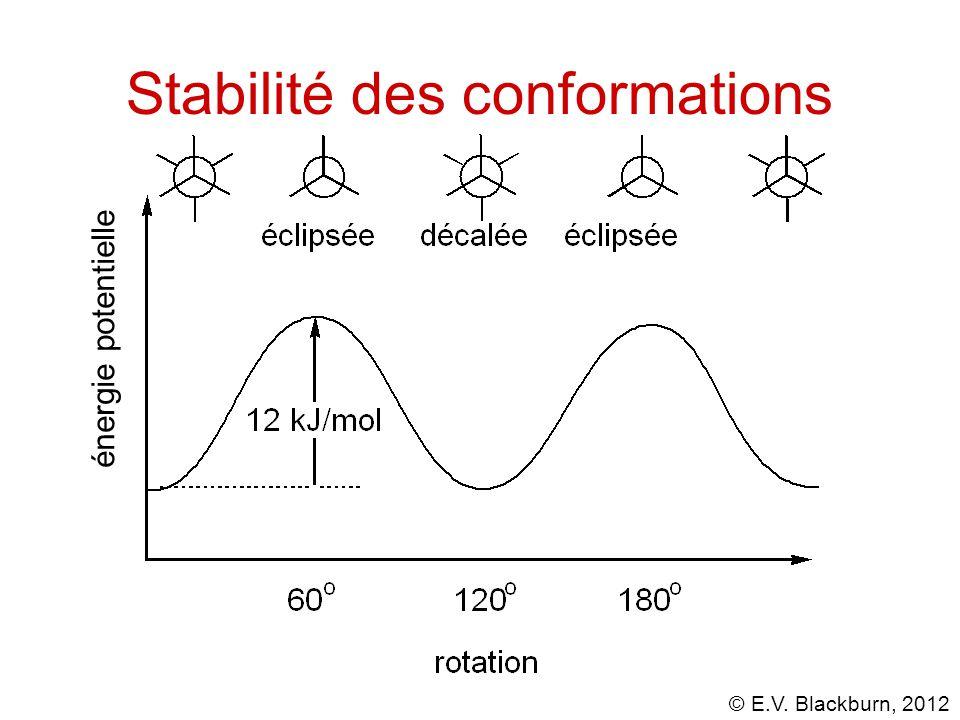 Stabilité des conformations