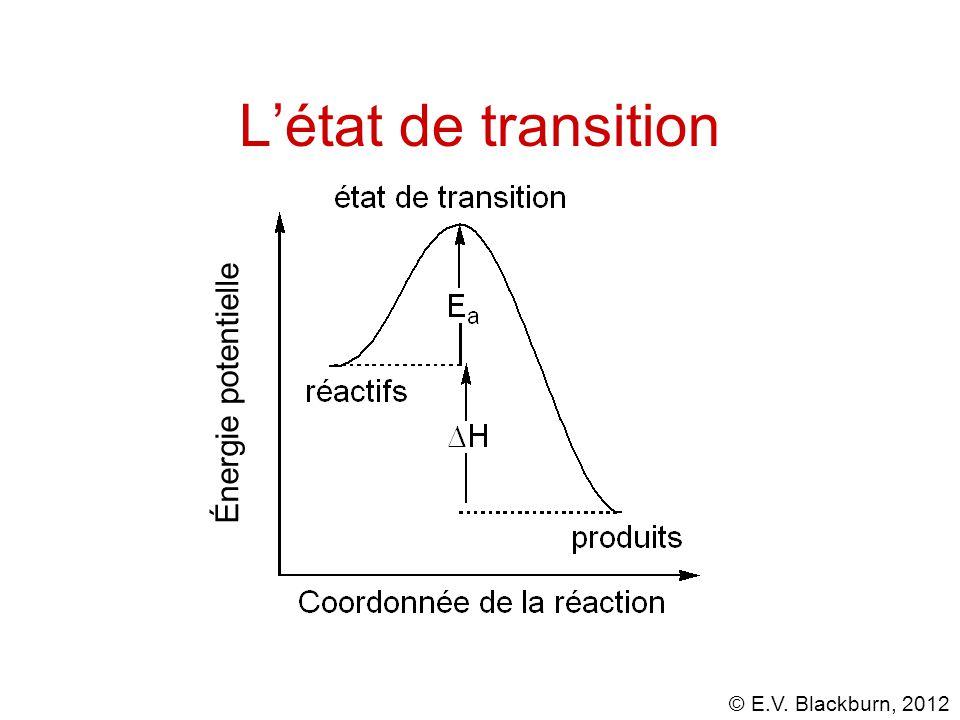L'état de transition Énergie potentielle