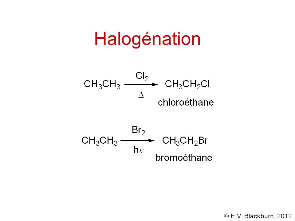 Halogénation