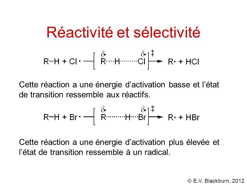Réactivité et sélectivité
