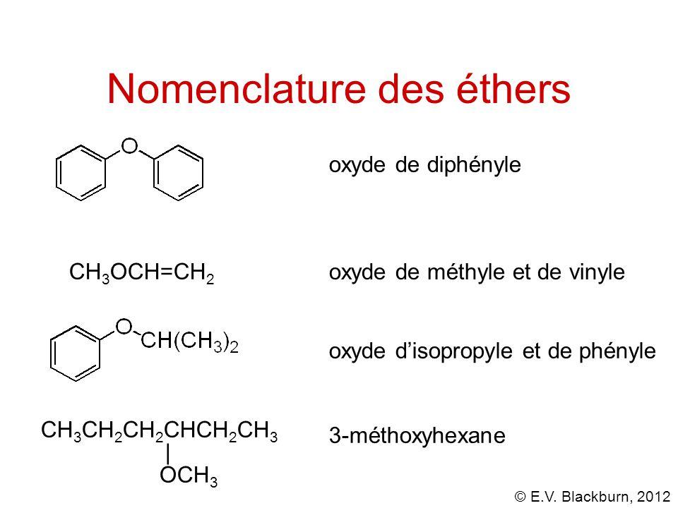 Nomenclature des éthers