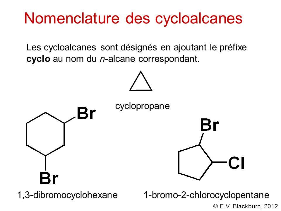 Nomenclature des cycloalcanes